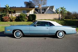 1976 ORIGINAL 38K MILES-INNSBRUCK BLUE-BLUE INTERIOR & WHITE TOP & PARADE BOOT!