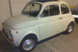 1969 FIAT 500L. 11 Months MOT. Tax exempt. SERVICE HISTORY. Just Restored