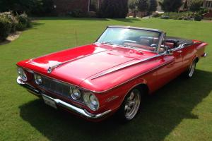 Very Rare 1962 Plymouth Sport Fury Convertible