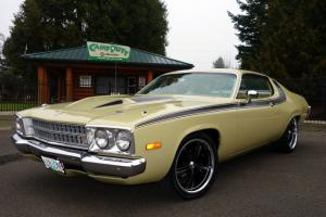 1973 Plymouth Roadrunner Tribute car 318 V8 Automatic PS PDB