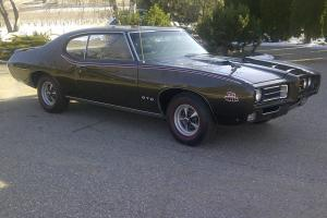 Numbers Matching 1969 GTO Judge Ram Air 111 PHS Documented