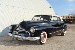 1948 BUICK SUPER CONVERTIBLE. SOLID DRIVER. TEXAS