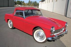 1962  MG  MIDGET  MK 1