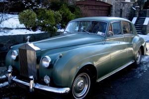 1961 Silver Cloud,LHD,#'sV-8,Silver Green/Jade LeatherAuto,AC,PW,PS,Radials,Exc.