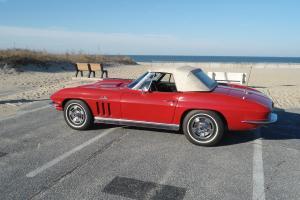 1966 corvette convertible original big block