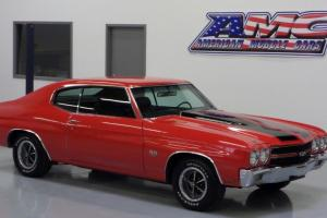1970 Chevrolet Chevelle SS 396, Real 4 speed, Front disc ssgauges bucket seats