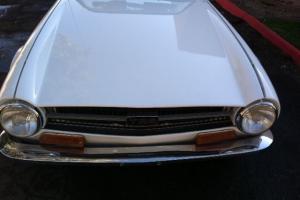 1971 Triumph TR6 zero rust NO RESERVE!!!