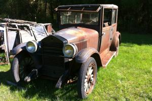 1926 Essex 2 Door Coach,  Barn Find Photo