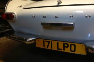 Volvo p1800 1963 private plate included needs finishing