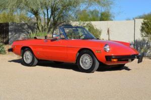 1981 Alfa Romeo Spider, CA-AZ from new, One family 30 Years, 68k Miles, All Orig