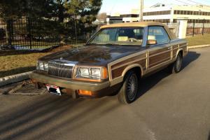 Chrysler LeBaron Mark Cross Convertible (1986), Low Miles - PERFECT CONDITION*