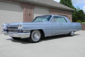 1962 Cadillac 62 Series 4 window sedan