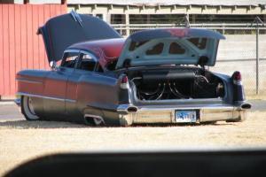 1956 Cadillac series 62 kustom chop top tail dragger rat rod airbags rust free