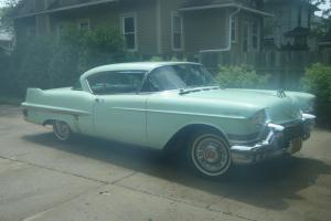 1957 Cadillac Coupe deville, rust free, original, stored 29 years