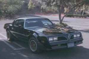 1978 TRANS AM GARAGE KEPT 71K ORIGINAL MILES CALIFORNIA CAR NEAR PERFECT