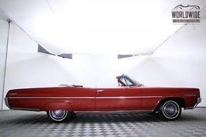 1964 PONTIAC CATALINA CONVERTIBLE -RARE! V8! RESTORED AND BEAUTIFUL