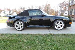 Porsche 993 Turbo Look Cabriolet- Conversion for Sale