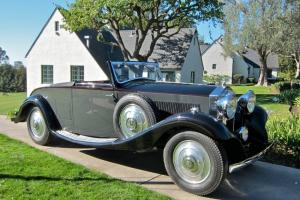 1933 Rolls-Royce 20/25 Drophead Coupe by Carlton Photo
