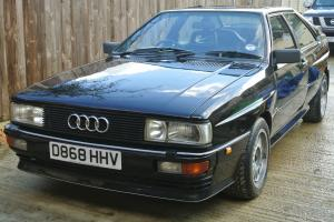 1987 D Reg, AUDI QUATTRO UR, Black, lovely example