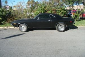 1974 dodge challenger texas car  black a/c automatic