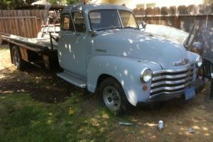 1949 Chevrolet pickup car carrier