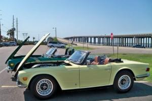 1971 TR-6 Excellent Mechanical Condition