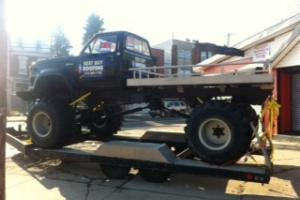 1974 Dodge Monster Truck With Custom Trailer