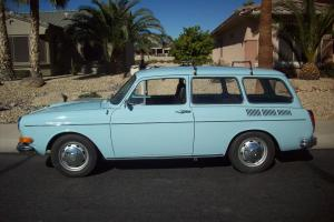 1972 VW Squareback with Fuel Injection and Factory Sunroof