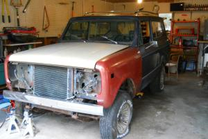 International Scout II - Project Vehicle or for parts