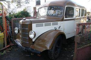 1953 CLASSIC K TYPE BEDFORD BUS