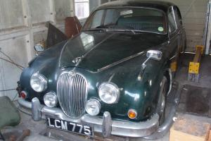 1961 JAGUAR MK 2 3.4 MANUAL OVERDRIVE