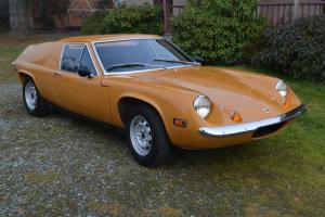 1970 Lotus Europa S2 Europe classic British sports car