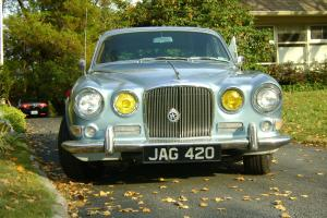 Classic 1967 Juguar Saloon Model 420 last of the Baby Jaguars