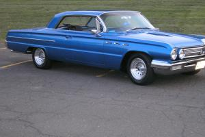1962 Buick LeSabre 6.6L buick 401 nailhead,62 chevy impala hot rod street rod