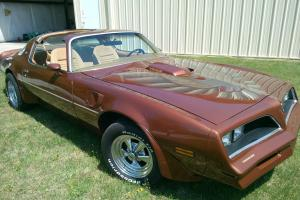 1978 TRANS AM, 6.6 WITH T TOPS, SPECIAL EDITION TRIM