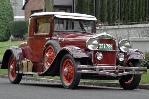 '29 Hudson Super Six Coupe - Complete body off restoration - Outstanding example Photo