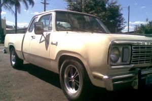 1977 Dodge D17 Pick UP Truck UTE California America CAR in Toowoomba, QLD