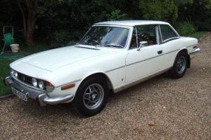 1978 Triumph Stag Mk2 White automatic genuine 70000 miles from new