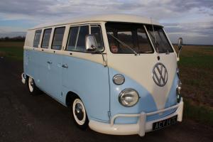 1965 VW Split Screen 11 Window Camper Van – Left Hand Drive. Fully Restored.