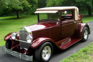 1928 Buick Coupe,Steel Street-Rod,Frame-off,Leather Int.ZZ4,Fatman,AC,PS,PB,Mint