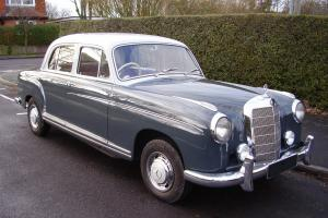 MERECEDES BENZ PONTON 220S 1 OWNER FROM NEW , 72,000 MILES , STUNNING