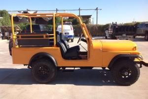 1979 jeep Cj7  custom extended tour safari full cage AZ sold no rust