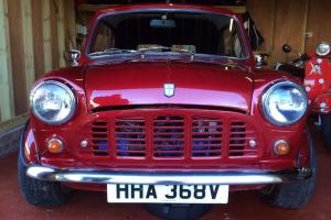 very rare mini van , full nut and bolt restoration
