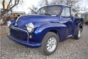 1960 Morris Minor Classic Mini Pickup Truck Unibody Arizona Vintage Survivor