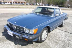 1987 Mercedes 560 SL Roadster Low Miles