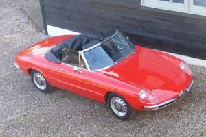 Alfa Romeo 1750 Spider Veloce 1970 RHD
