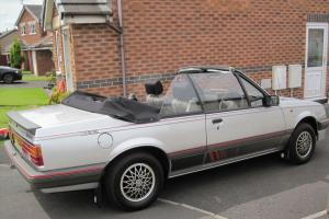 1987 VAUXHALL CAVALIER 1.8 CABRIOLET, 33K, POTENTIAL SHOW WINNER, CONVERTIBLE