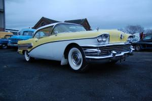 """1958 Buick Special 2 door hardtop, """"King Of Chrome"""" awesome presence"""