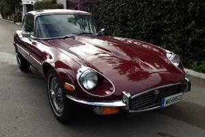 1972 JAGUAR E-TYPE COUPE 2+2 SERIES 3 LHD LEFT HAND DRIVE SPANISH REGISTERED