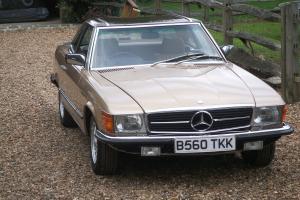 1984 MERCEDES 280 SL AUTO ONLY 47000 MILES